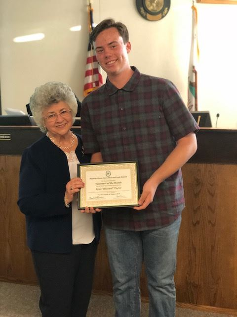 Aug Volunteer - Ryan Taylor