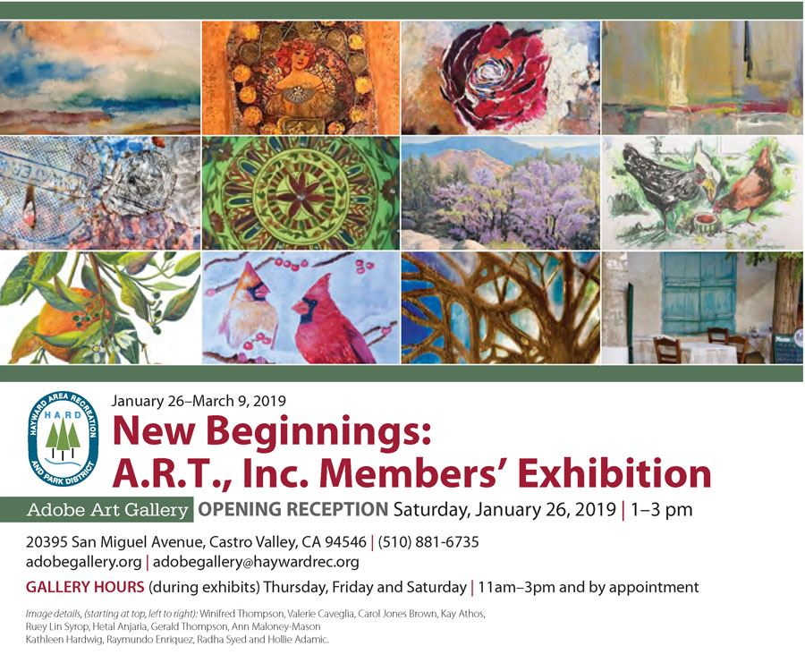 A.R.T., Inc. Members' Exhibition: New Beginnings